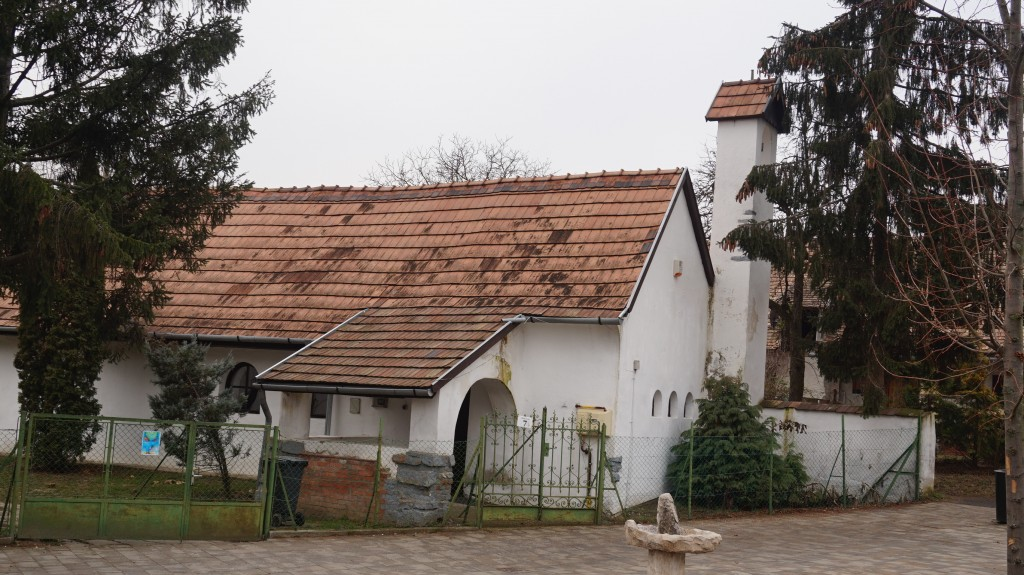 A régi református templom.